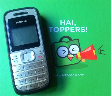 Hp Nokia Second jual handphone nokia 1208 hp second seken bekas murah miftah cellular phone
