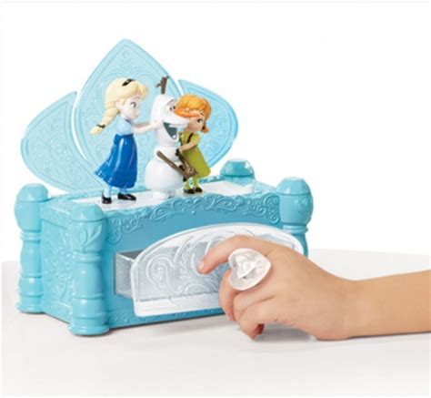 pre frozen jewelry box the flowing takara tomy elsa