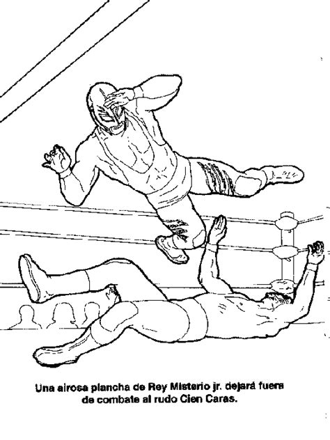 Rey Mysterio Coloring Pages Coloring Coloring Pages Cara And Mysterio Coloring Pages