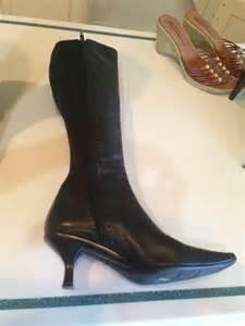liz claiborne boots liz claiborne black boots size 6 72 liz claiborne