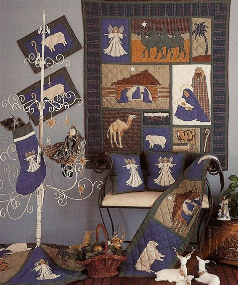 pattern for fabric nativity set nativity by patchmagic quilts beddingsuperstore com