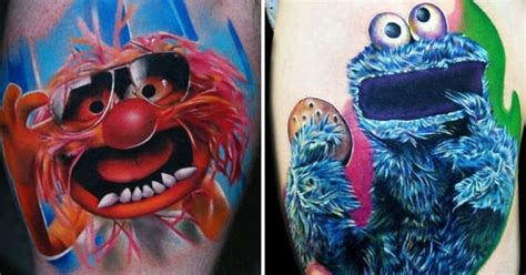 tattoo shops in waldorf 15 funkadelic muppet tattoos tattoodo