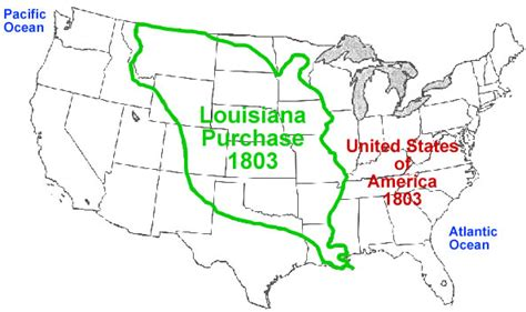 united states map louisiana purchase here s what i learned today or better write that