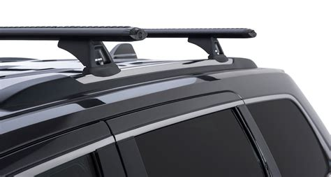 Roof Rail Grand Livina 2 jeep grand wk2 4dr 4wd with chrome roof rails 02 11on rhino vortex black roof racks pr