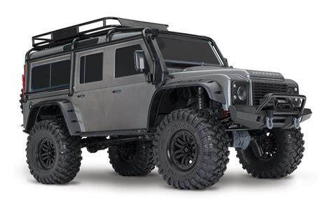 land rover defender traxxas trx 4 crawler land rover defender 110 green