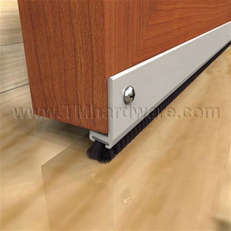 Interior Door Bottom Seal by High Quality Door Sweep With Angled Polypropylene Brush Www Tmhardware