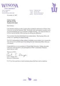University Acceptance Letter Template Acceptance Letter Wsu Cstadler07