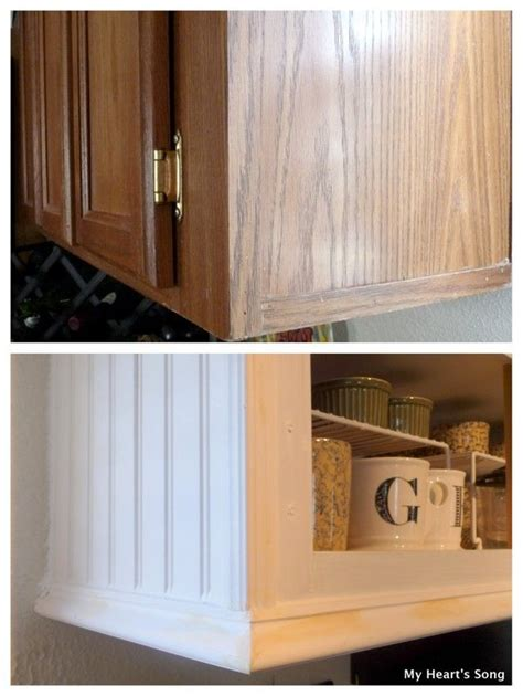 beadboard with trim kitchen inspiration pinterest my heart s song kitchen makeover phase two