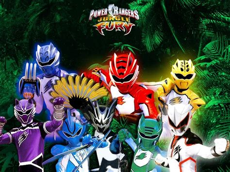 Jungle Fury Power Rangger Power Rangers Jungle Fury Ranger Defense Academy