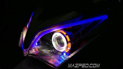 Pasang Lu Led Mobil pasang drl fleksible 2 warna di vario 125 mazpedia
