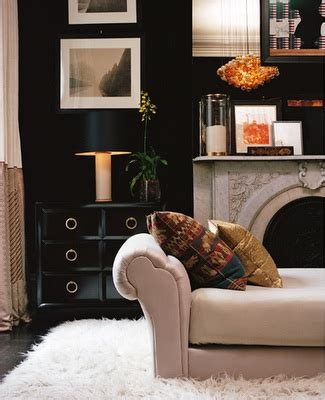 Black Cabinet For Living Room by Black Lacquered Cabinet Contemporary Living Room