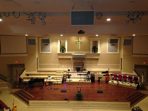 room baptist church americus s central baptist church gets a total audio makeover live design briefing