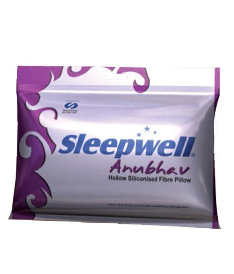 Price Of Pillow by Sleepwell Anubhav Pillow Buy Sleepwell Anubhav Pillow
