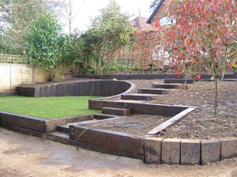 Railway Sleepers Landscaping by Soft Grade Sleepers
