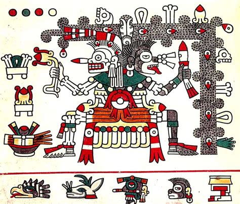 dioses aztecas imagenes y nombres painting styles aztec style painting and artists