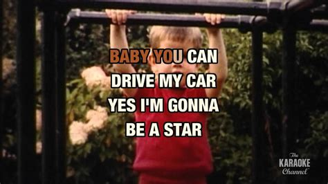 drive by the cars lyrics 1984 youtube youtube drive my car in the style of quot the beatles quot with lyrics