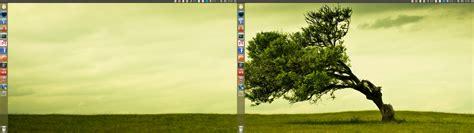 different wallpaper for extended desktop ubuntu multi monitor tweaks full screen flash fixes span