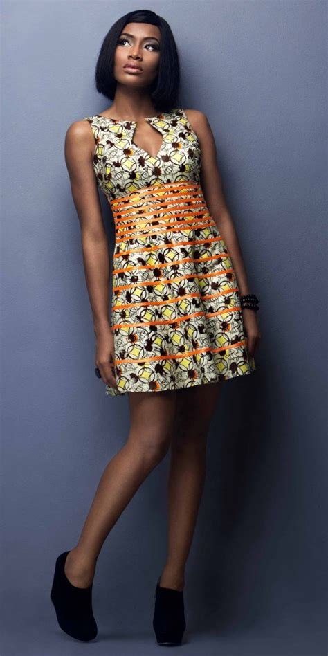 Short Ankara Gowns | lovely asoebi ankara styles short gowns amillionstyles com
