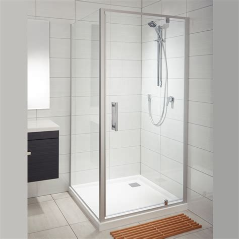 Showers Bathroom Soul Acrylic Wall Shower Athena Bathrooms