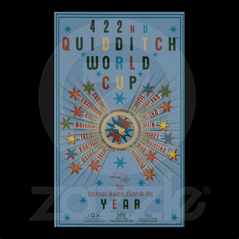 quidditch world cup blue poster harry potter quidditch world cup poster www imgkid