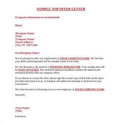 Exles Of Offer Letters For Employment Offer Letter Template 54 Free Word Pdf Format Free Premium Templates