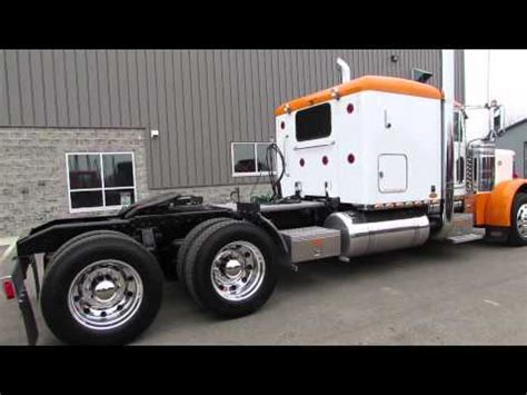 Flat For Sale 2006 Peterbilt 379 Ext Hood Flat Top For Sale Youtube