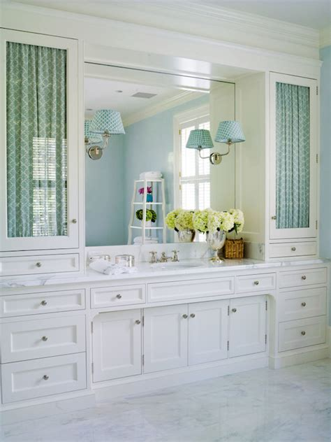 bathroom vanity with upper cabinets inset shaker front cabinets design ideas