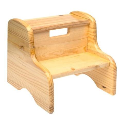 wooden step stool wood step stool solid pine potty training concepts