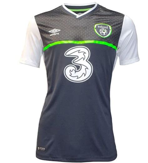 Irlandia Republik Away 2016 ireland soccer jersey quotes