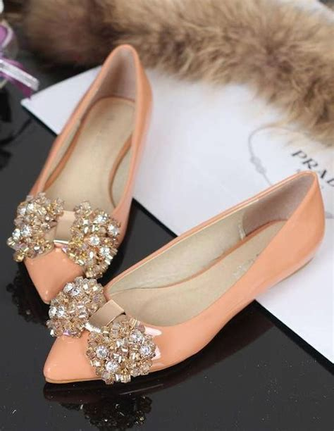 Bridal Flat Pumps by 15 Ways To Wear Flat Shoes At Your Wedding