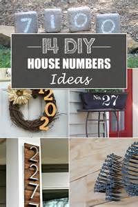 14 creative diy house numbers ideas