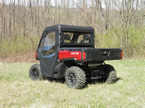 Defender Doors And Windows - can am defender doors and back panel