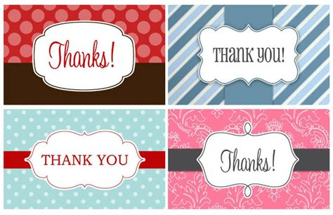 thank you card tag template 14 printable thank you gift tags baby