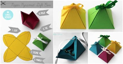 How Much Do You Make On A Paper Route - how to make paper pyramid gift boxes how to