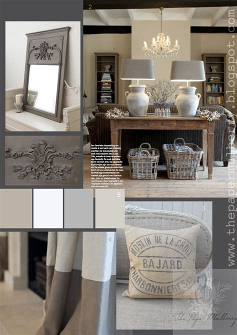 grey and white color scheme interior the paper mulberry essentially french