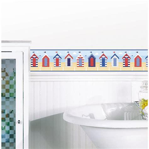 Bathroom Wallpaper Huts Brewster Huts Peel And Stick Wallpaper Border