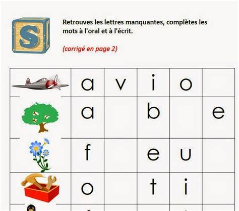 Calendrier 4 Images 1 Mot Trouver La Ou Les Lettres Manquantes Pour Construire Un