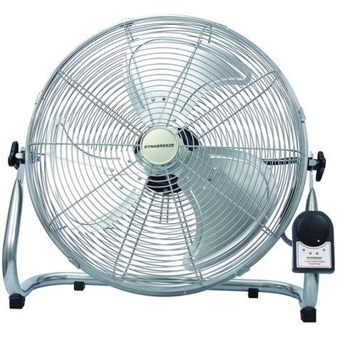 large floor fan industrial dynabreeze 450mm silver industrial floor fan bunnings