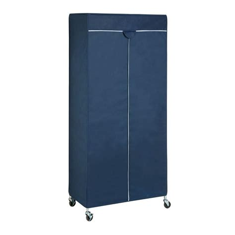 Enclosed Garment Rack by Whitmor Black And Chrome Collection 36 25 In X 68 In