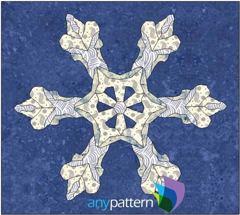 snowflake patterns real snowflake real anypattern com