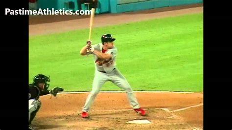 pro baseball swing slow motion scott rolen hitting slow motion baseball swing st louis
