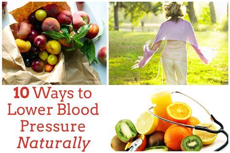 ways to bring blood pressure herbal