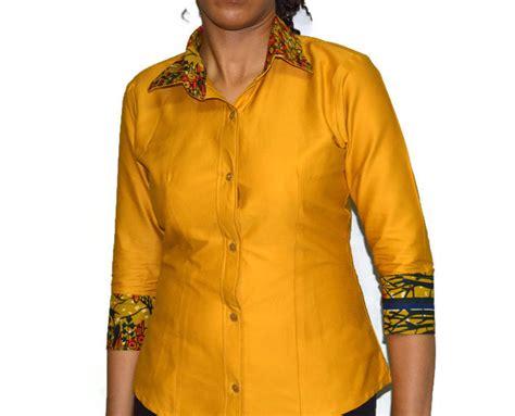 african kitenge shirts ankara shirt3 4 sleeve shirt women s african print
