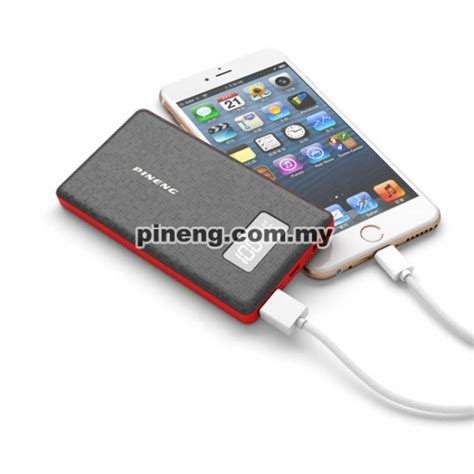67kffjg Pineng Power Bank Pn 960 6000mah pineng pn 960 6000mah lithium polymer power bank white