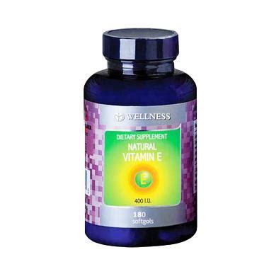 Wellness Vitamin Harga Jual Wellness Vitamin E 400 Iu Isi 180 Water