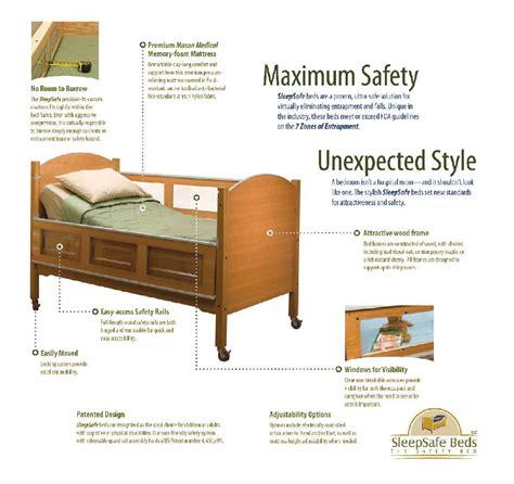 sleep safe beds sleepsafe fixed low safety bed free shipping