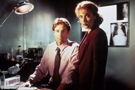Vcd Original The X Files And I Want To Believe gillian and david duchovny x files reboot on magazine cover daily mail