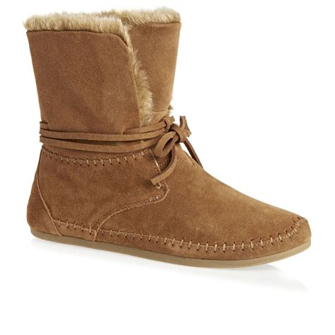 toms boots toms zahara suede boots chestnut free uk delivery on