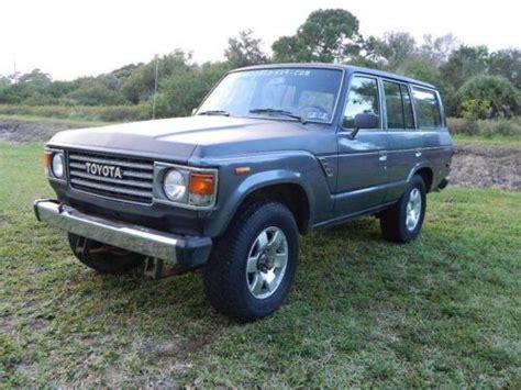 Toyota Hj Sell Used 1985 Toyota Land Cruiser Fj60 Fj 60 Fj40 Bj