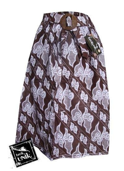 Rok Batik Motif Mega Mendung 2 Katun Bukan Rayon San Promo rok batik pendek motif mega mendung bawahan rok murah batikunik